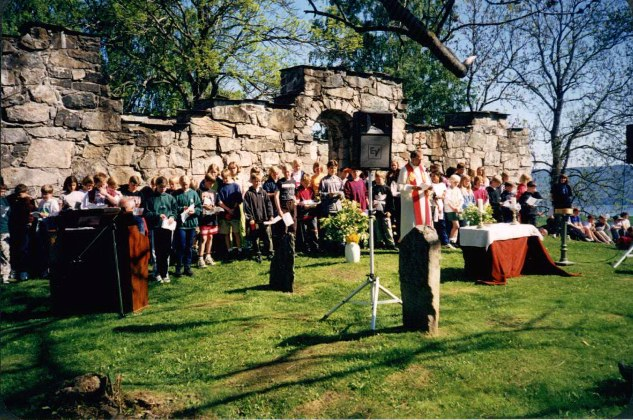 Skolegudstjeneste på Høyden -